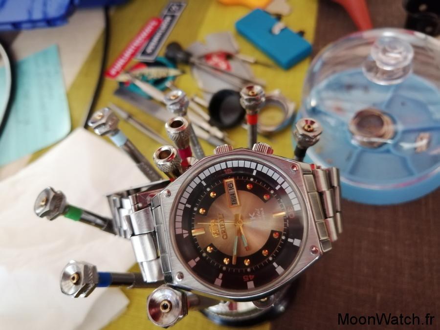 orient sk crystal cadran