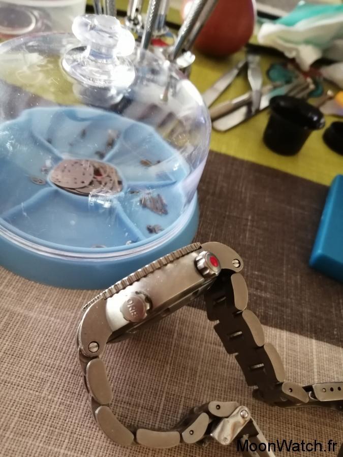 oris der meistertaucher regulateur bracelet