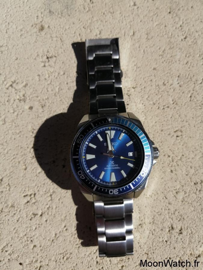 seiko samurai blue lagoon dial