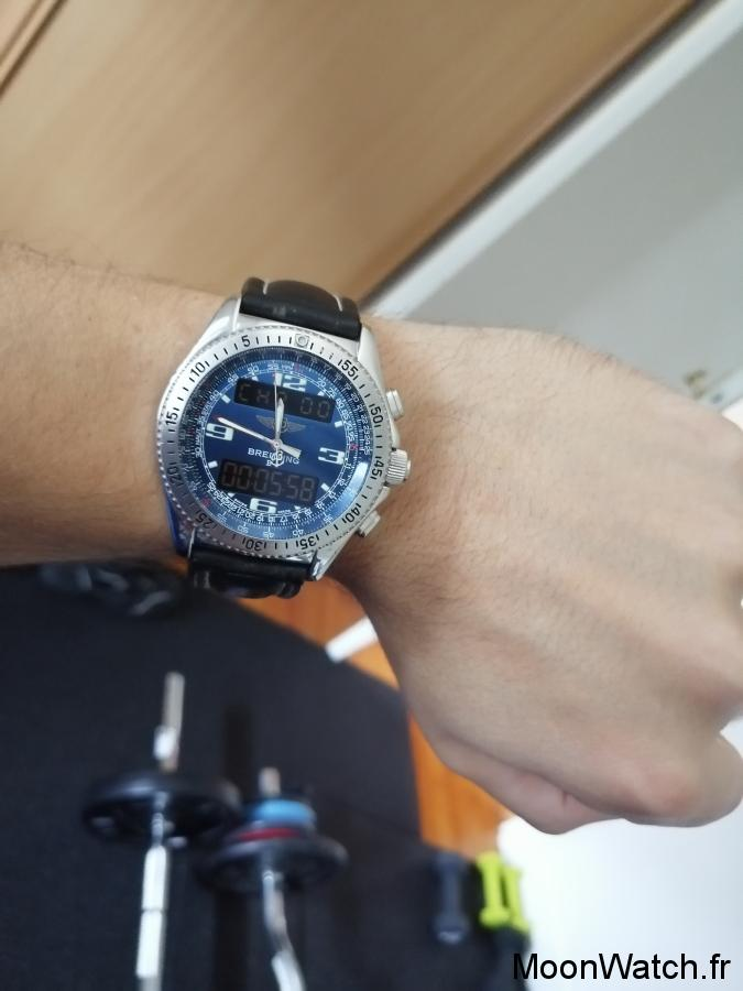 breitling b-1 wristshot