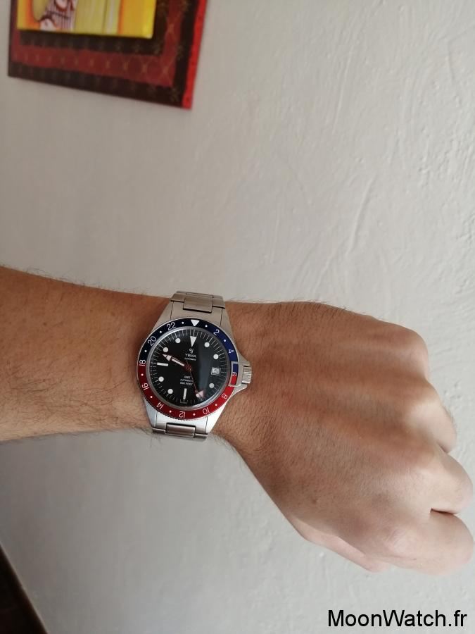 yema superman gmt wristshot