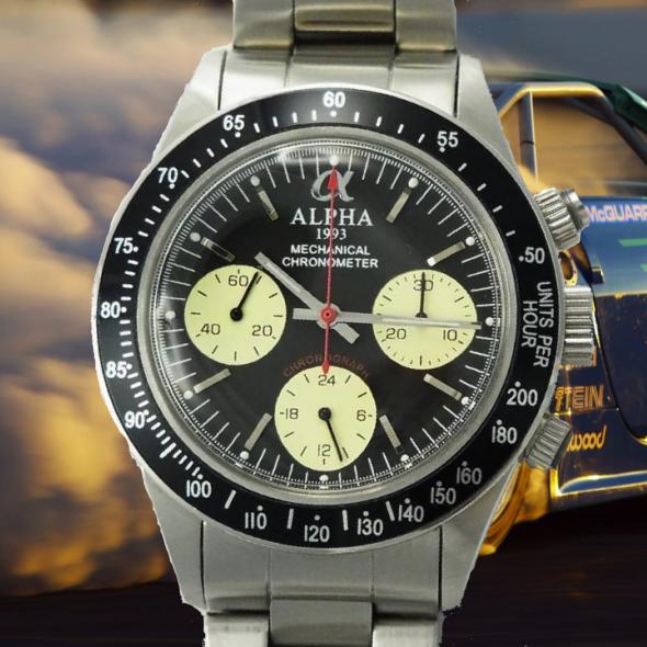 alpha daytona chronographe