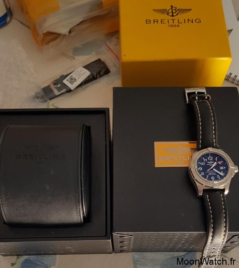 breitling avenger seawolf packaging