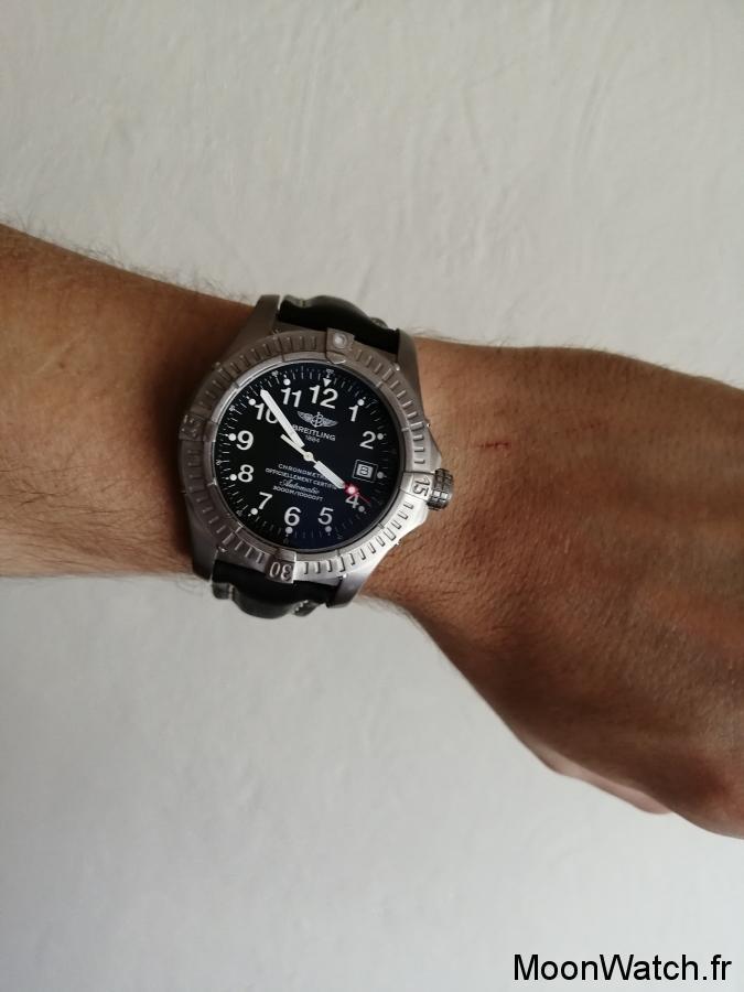 breitling avenger seawolf wristshot