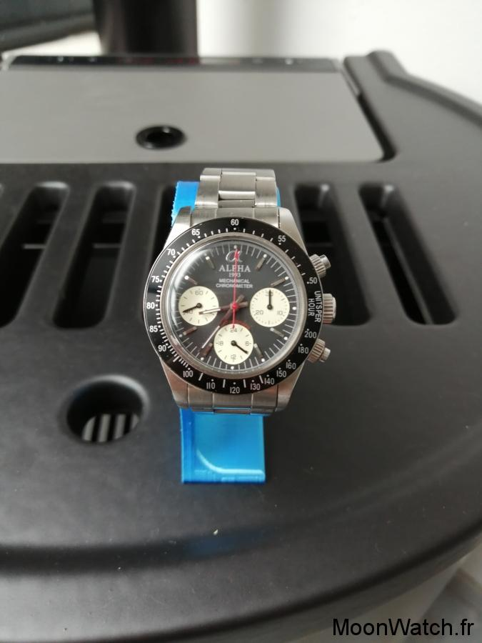 montre alpha daytona chrono