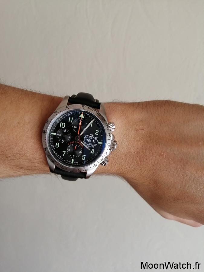 wristshot fortis cosmonauts
