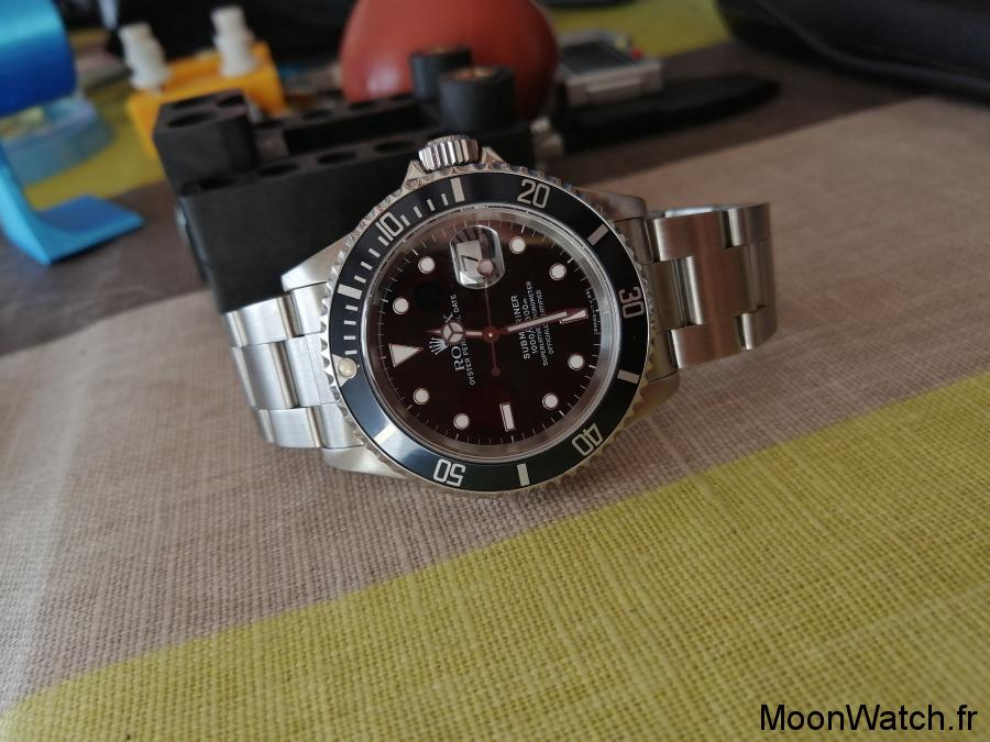 bezel rolex submariner