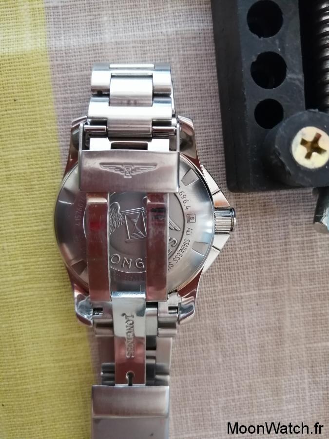 bracelet longines hydroconquest chrono