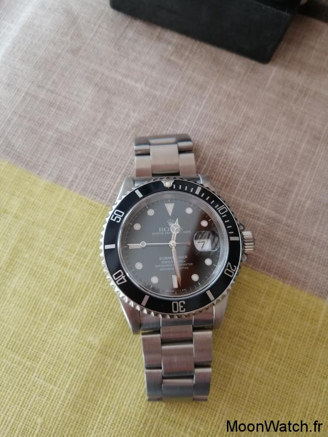 cadran rolex submariner