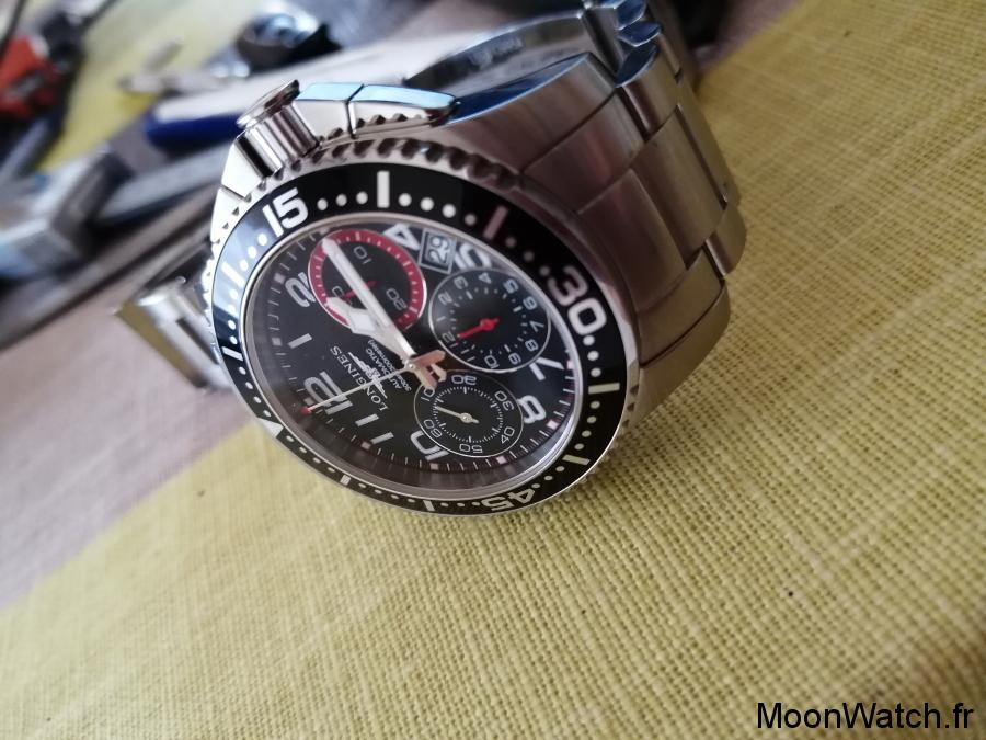 chronographe longines hydroconquest
