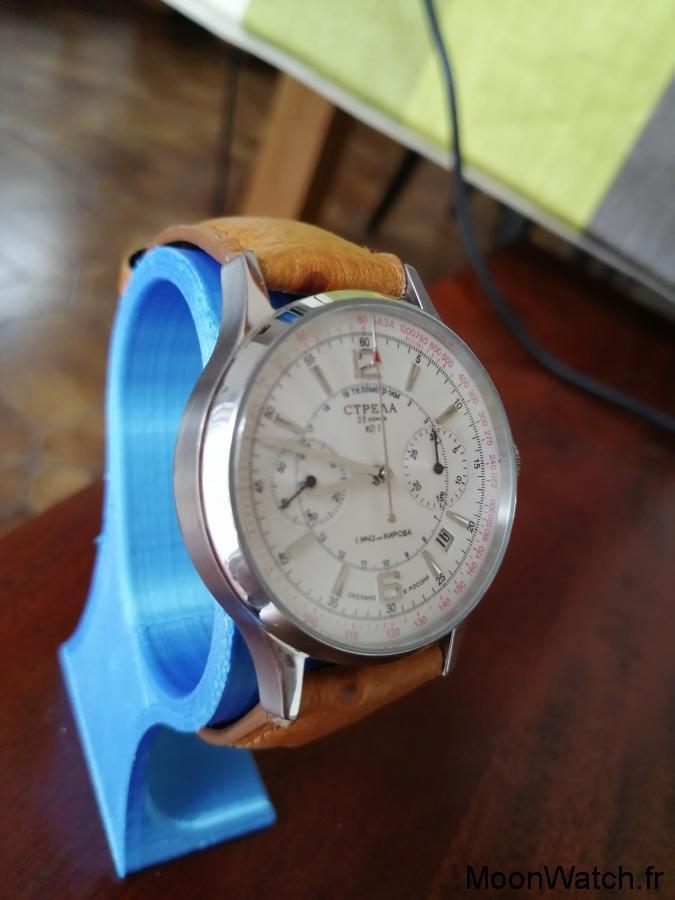 chronographe poljot strela