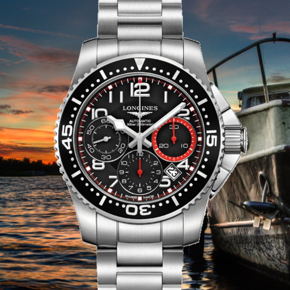 longines hydroconquest chronographe swiss