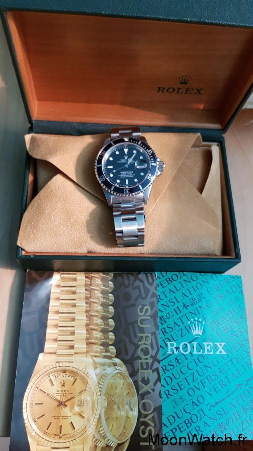 packaging rolex submariner