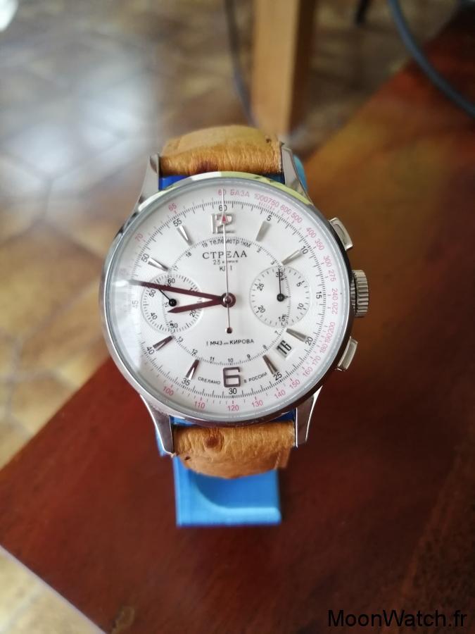 poljot strela chronographe
