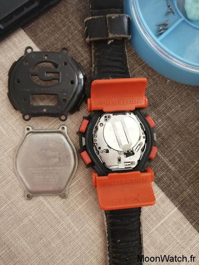 quartz casio gshock dw003