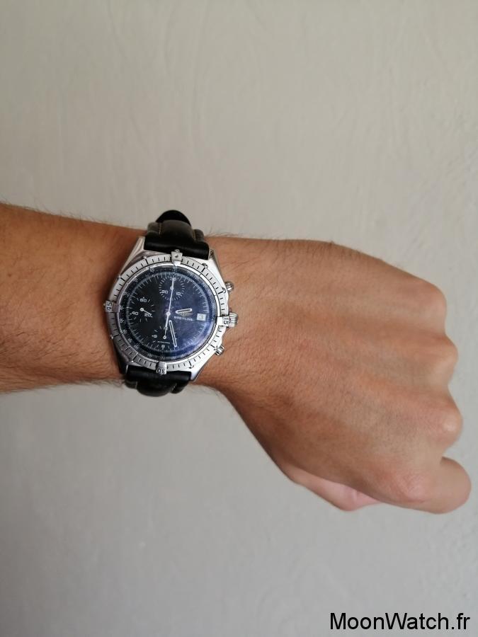 wristshot breitling chronomat 81950