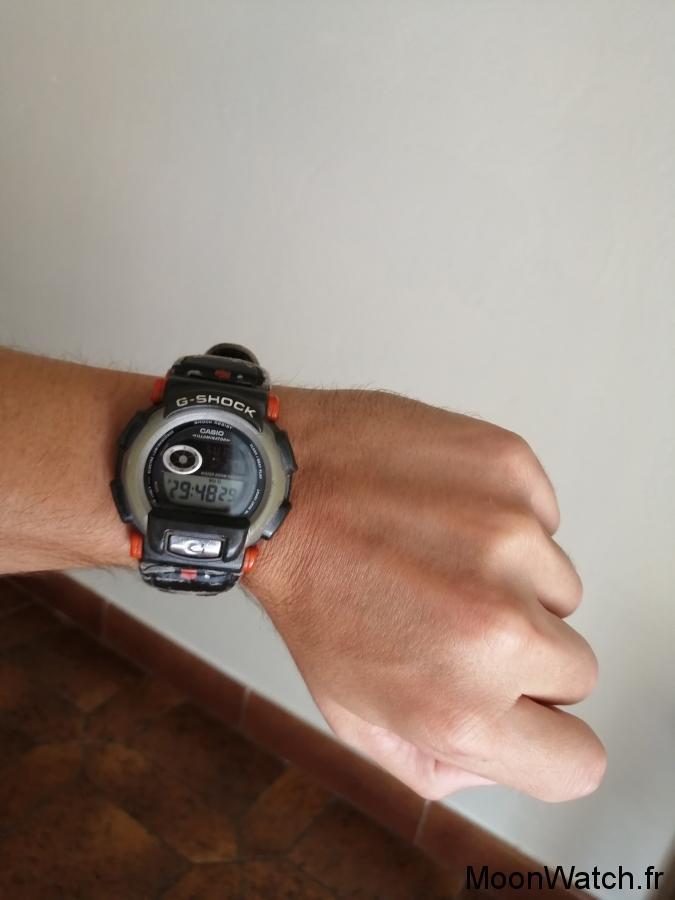 wristshot casio gshock dw003