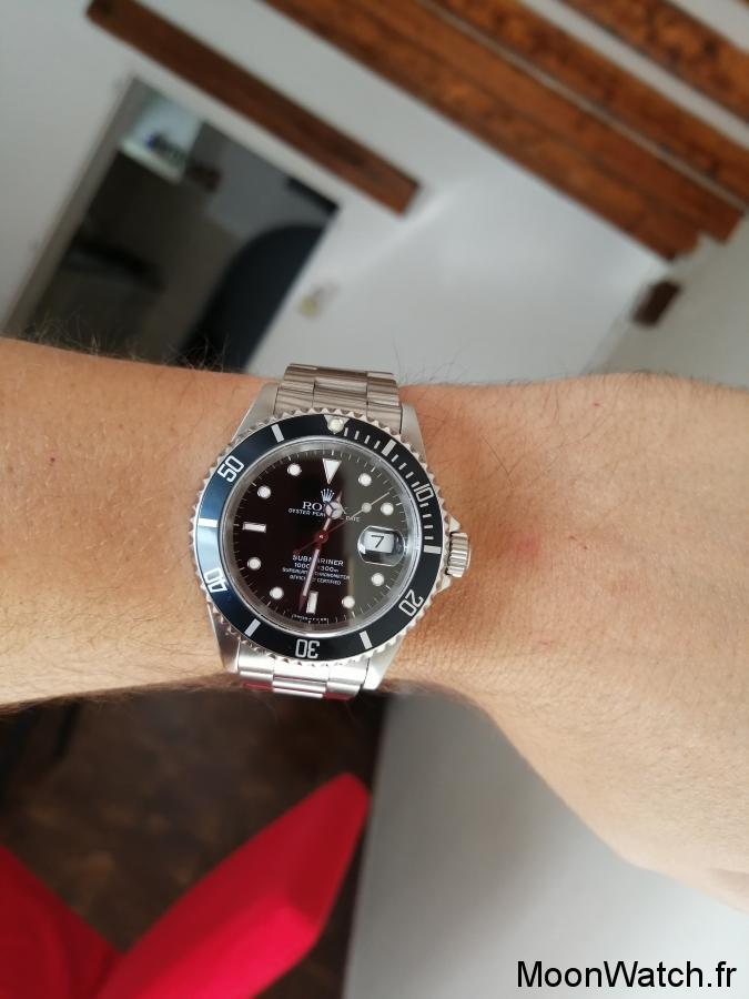 wristshot rolex submariner