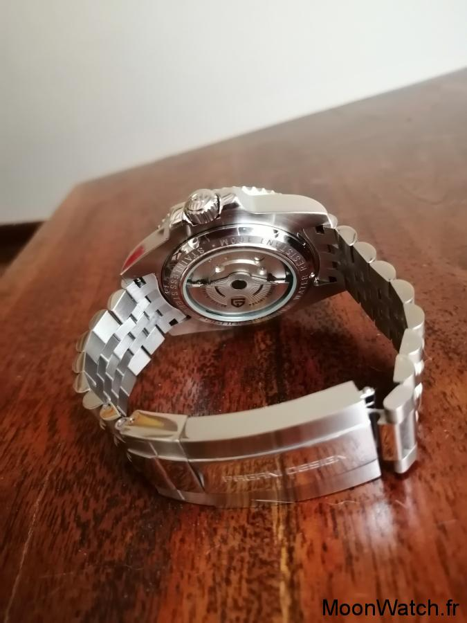 bracelet pagani design gmt