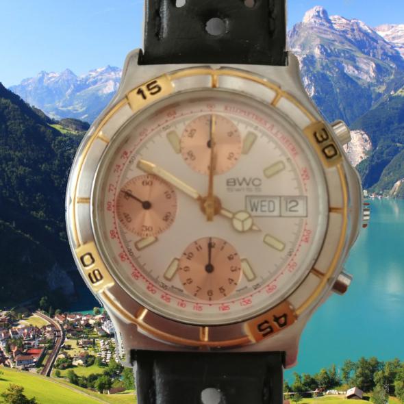 bwc swiss chronograph