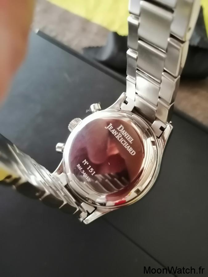 caseback jeanrichard chronographe