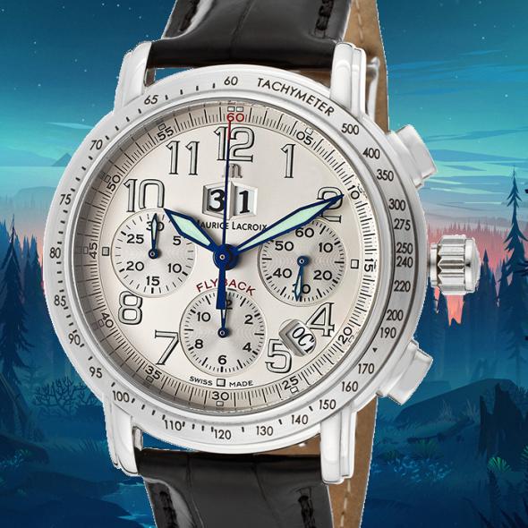 maurice lacroix masterpiece chronographe flyback
