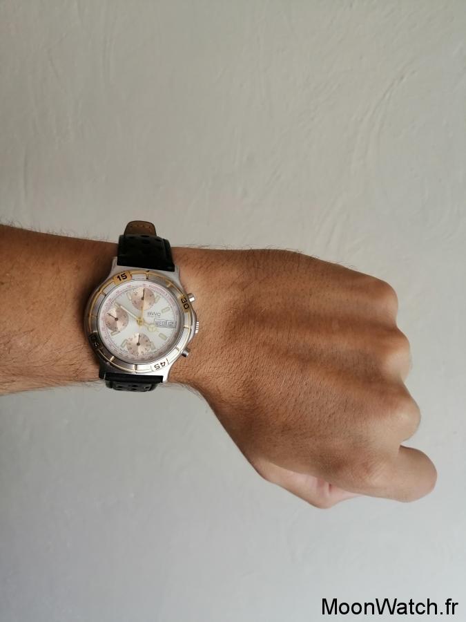 wristshot bwc swiss chronograph