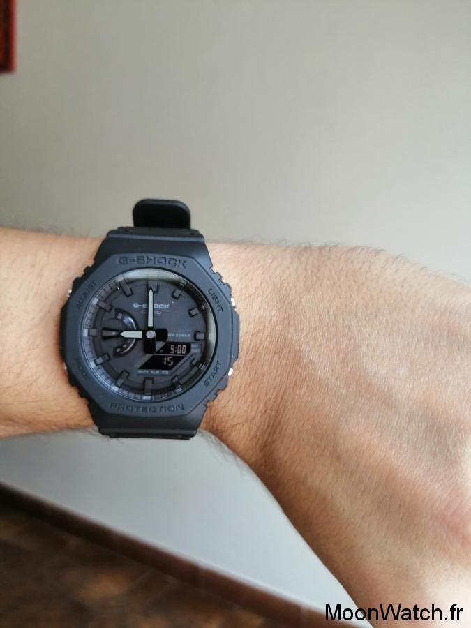 wristshot casio ga2100