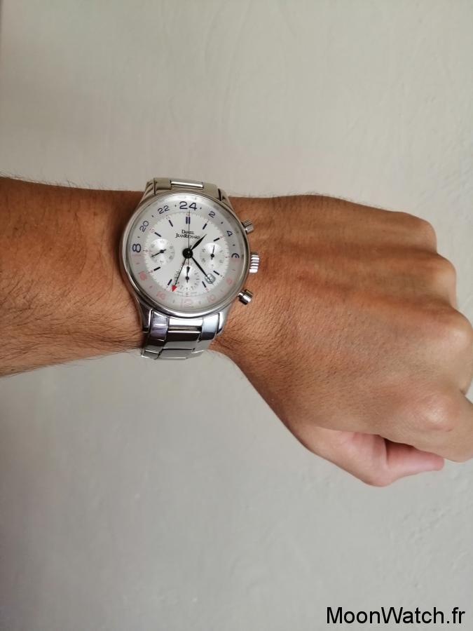 wristshot daniel jeanrichard