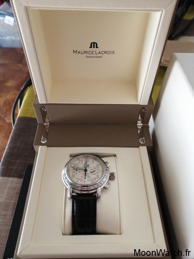 maurice lacroix flyback chronographe