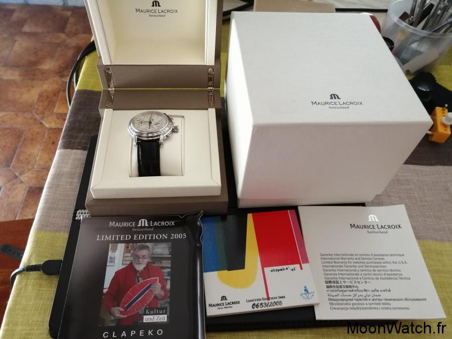 packaging maurice lacroix limited edition
