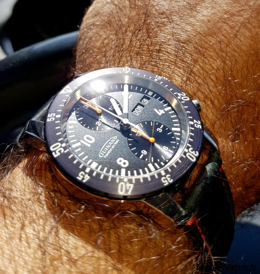 wristshot guinand duograph