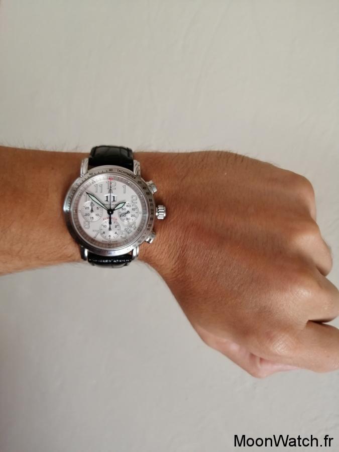 wristshot maurice lacroix flyback