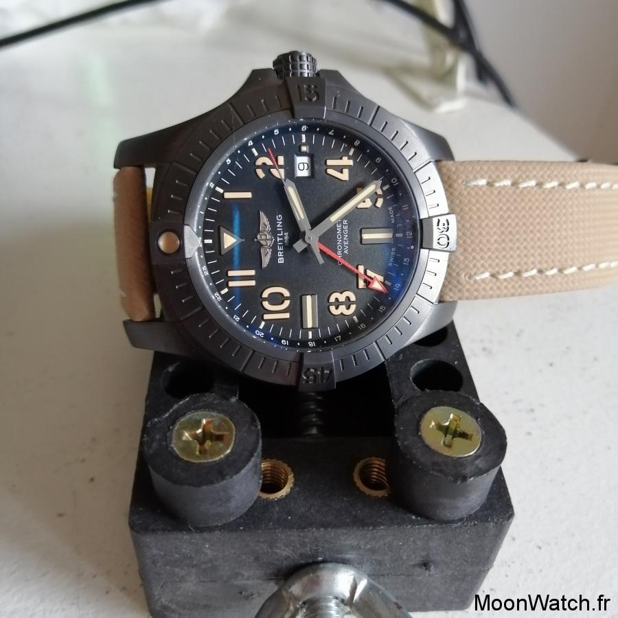 breitling automatic night mission