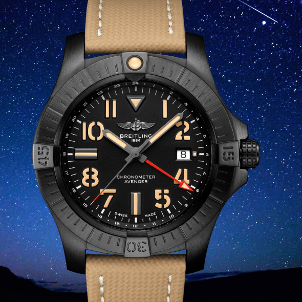 breitling avenger gmt night mission