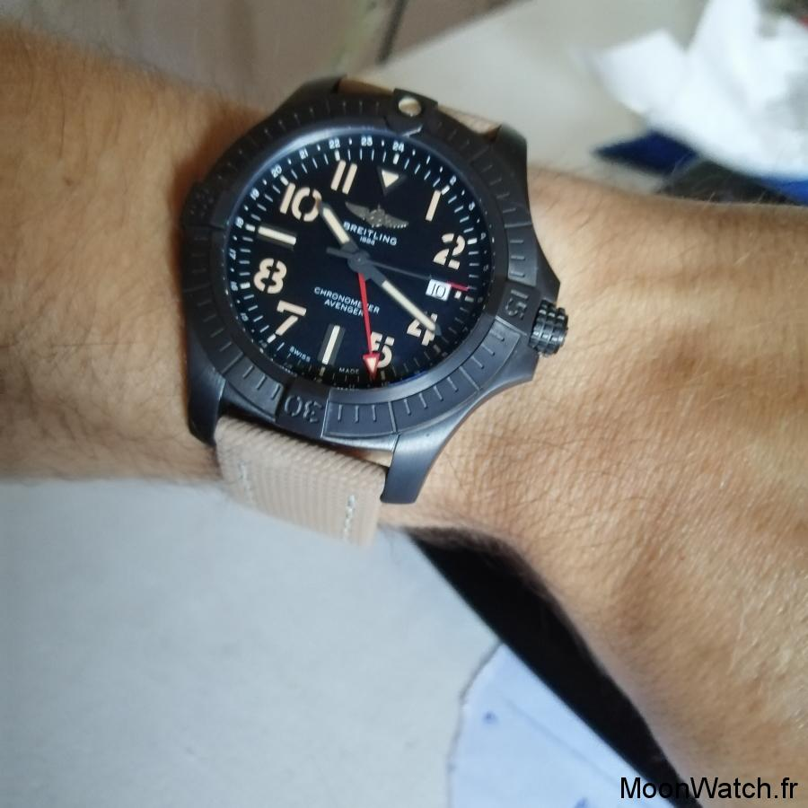 breitling night mission gmt 45