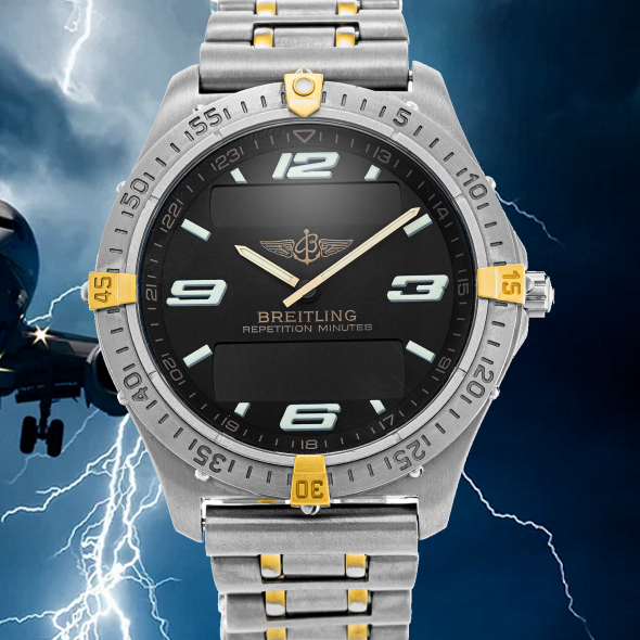 breitling aerospace repetition minutes