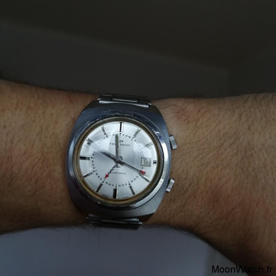 wristshot technos alarm date