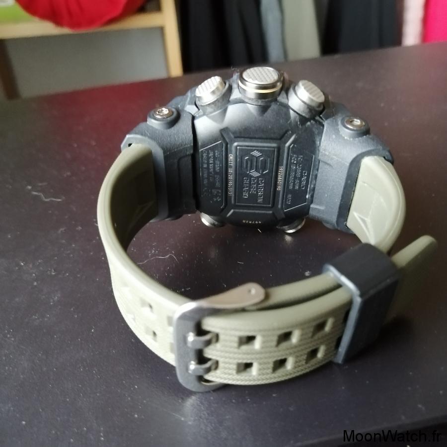 bracelet casio mudmaster