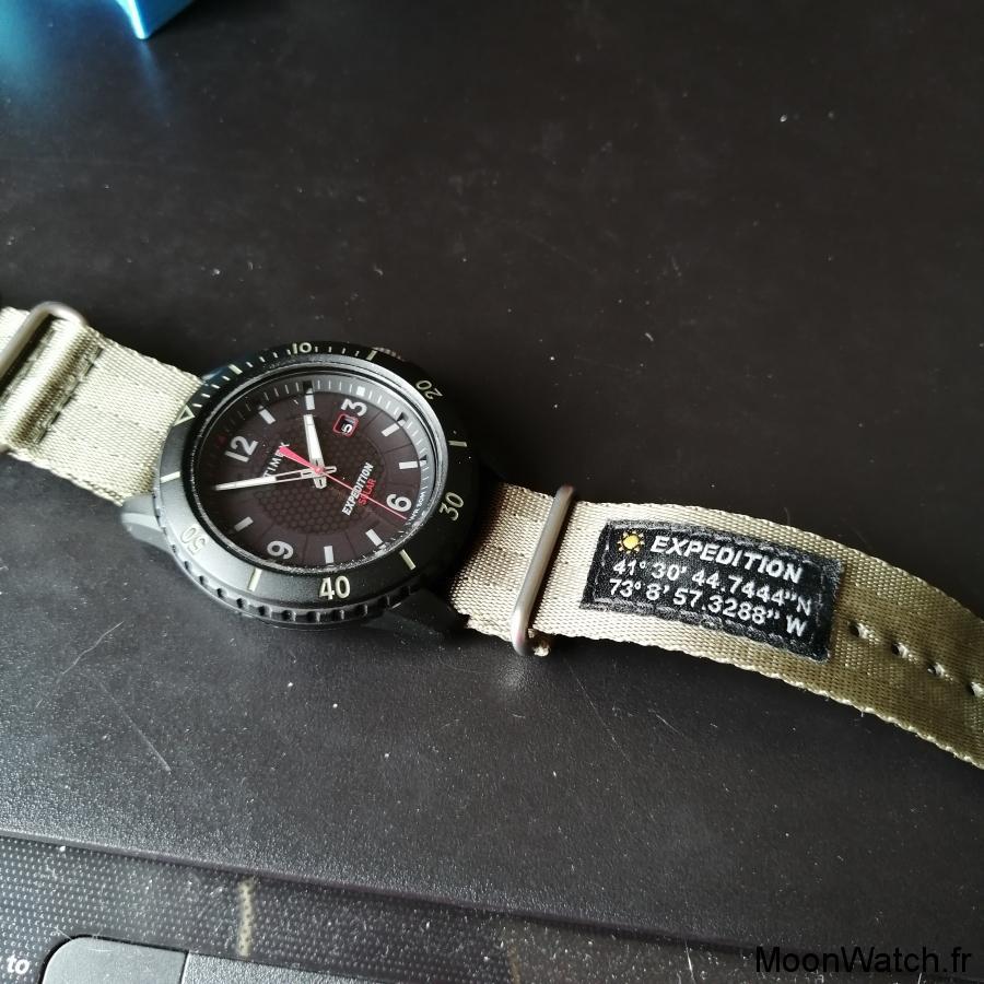 bracelet zulu timex