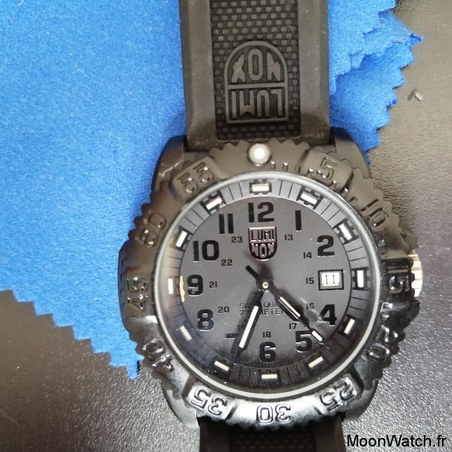 cadran luminox navy seal colormark