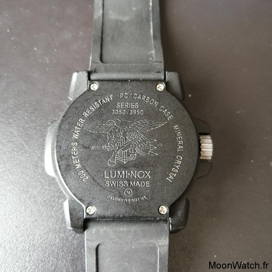 caseback luminox 3051.BO