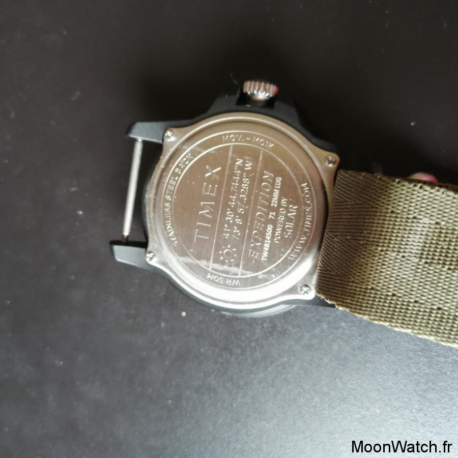 caseback timex expedition