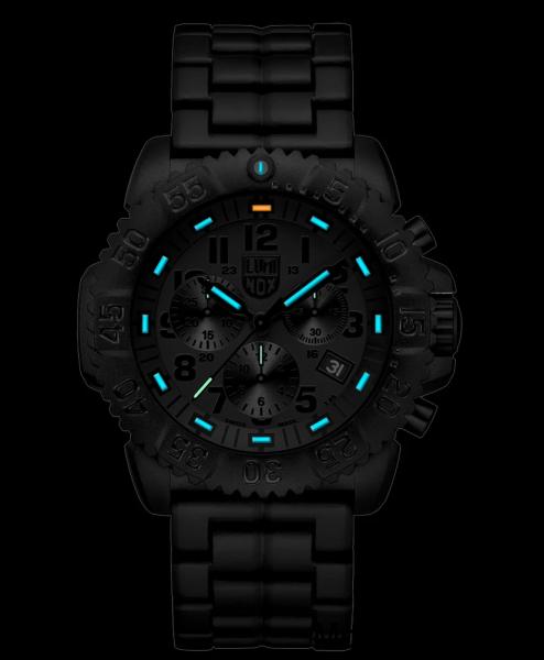 lumeshot luminox navy seal chronograph