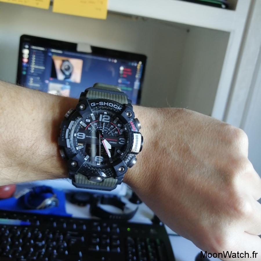 wristshot casio g-shock gg-b100