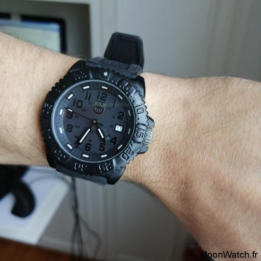 wristshot luminox navy seal