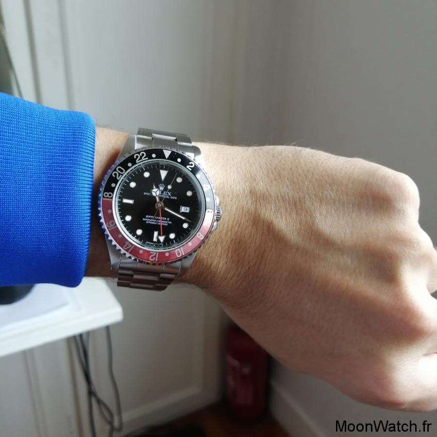 wristshot rolex 16710