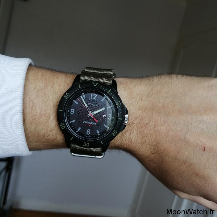 wristshot timex expedition
