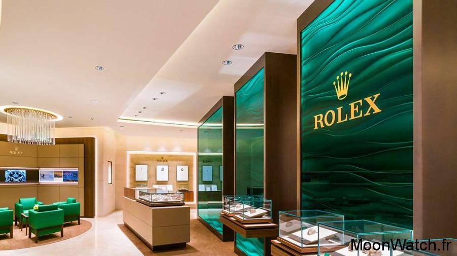 boutique rolex