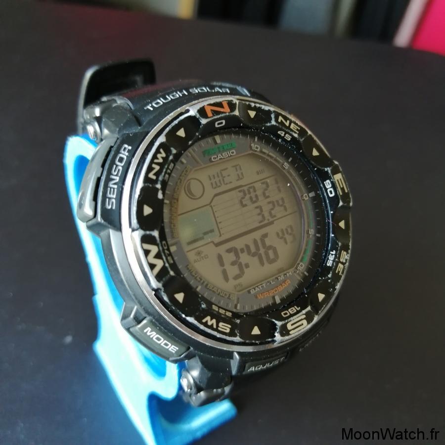 montre solaire casio pro trek